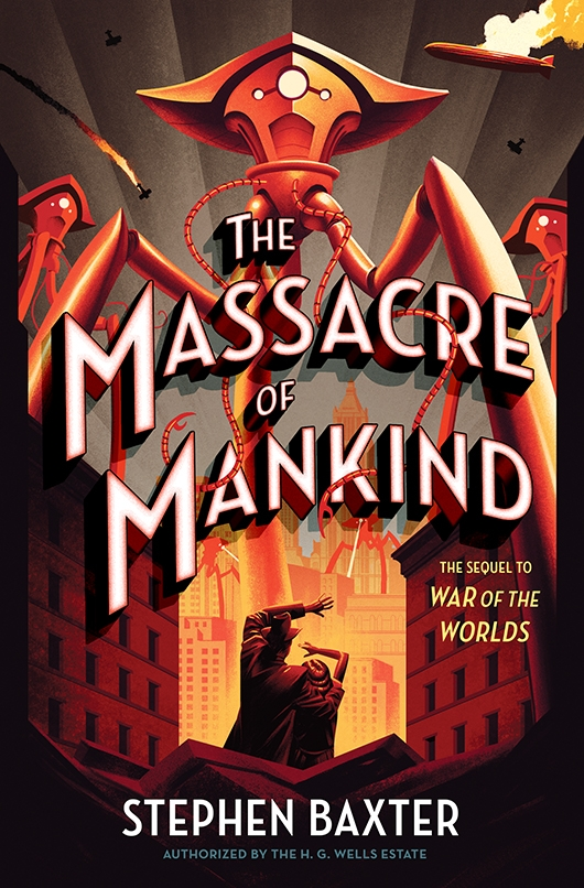 The Massacre of Mankind: Sequel to The War of the Worlds book cover