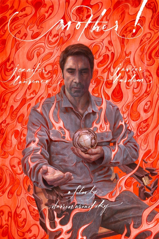 mother! Javier Bardem Poster