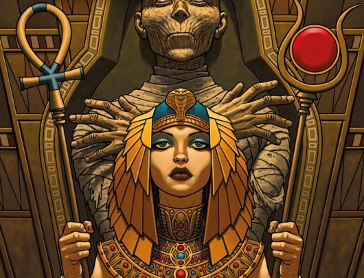 The Mummy: Volume 1: Palimpsest TPB header