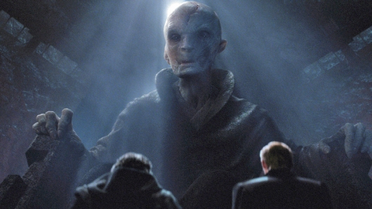 Snoke Star Wars: The Force Awakens
