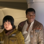 Star Wars: The Last Jedi Rose and Finn