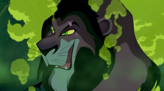 Scar in Disney's The Lion King