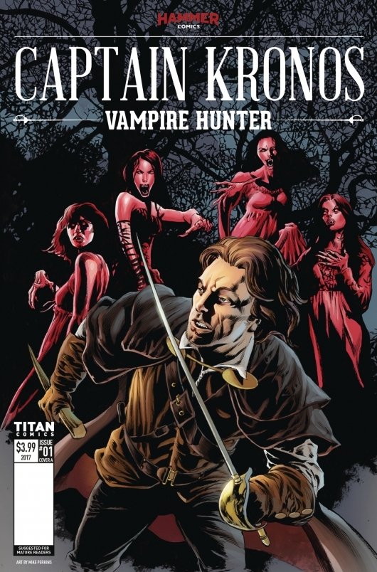 Captain Kronos: Vampire Hunter #1