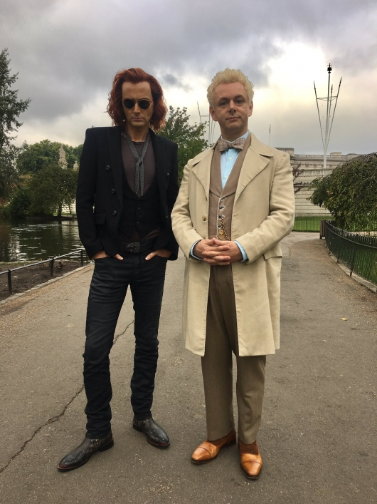 Good Omens David Tennant Michael Sheen First Look