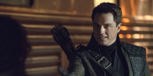 John Barrowman Malcolm Merlyn Arrow