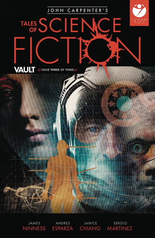 John Carpenter's Tales of Science Fiction: Vault #3 cover