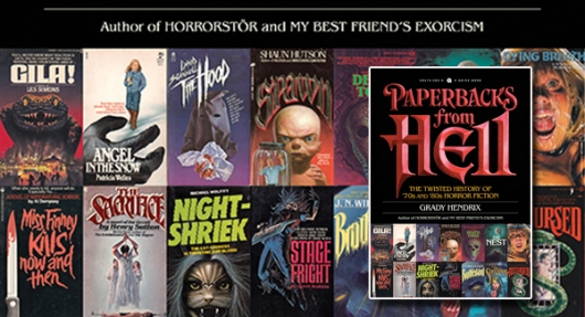 Paperbacks from Hell book banner
