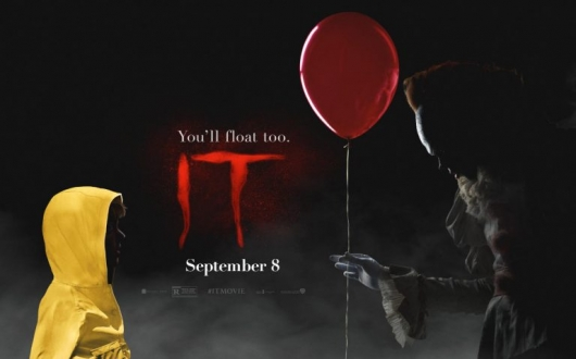 Stephen King's IT (2017) You'll Float Too banner