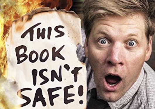 This Book Isn't Safe Colin Furze Header