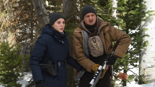 Wind River Elizabeth Olsen and Jeremy Renner Movies of 2017