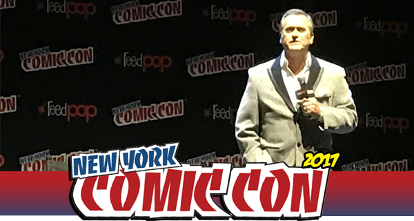 NYCC 2017: Ash vs Evil Dead interview with Bruce Campbell