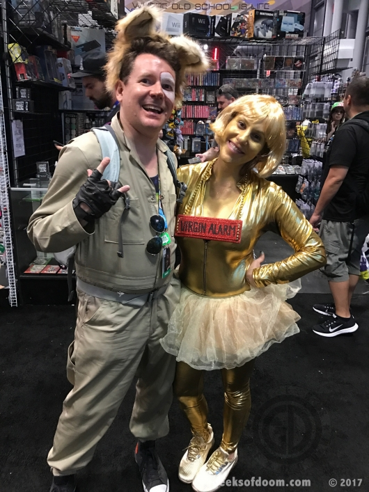 Spaceballs Barf and Dot Matrix cosplay