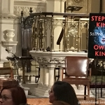 Stephen King and Owen King St. Anns event