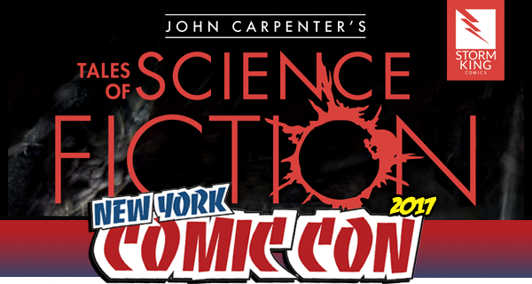 NYCC 2017: Interview with Tales of Science-Fiction James Ninness