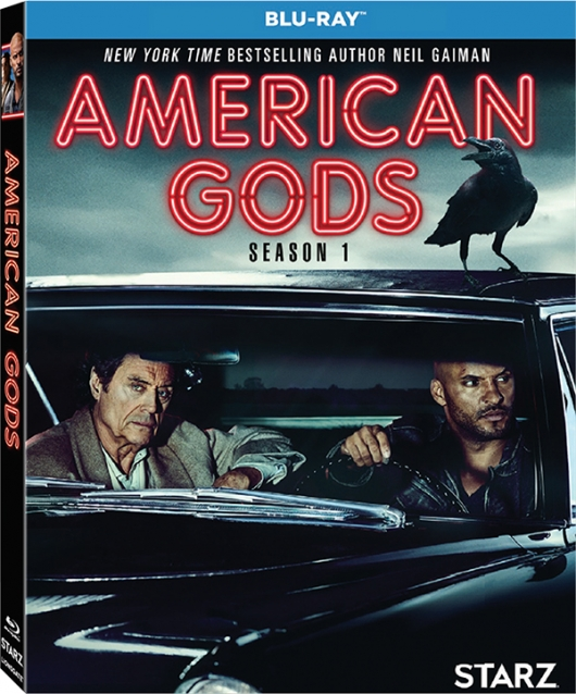 American Gods Season 1 Blu-ray box art