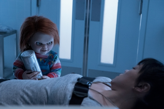 Cult Of Chucky Grace Lynn Kung with Chucky