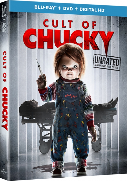 Cult Of Chucky Blu-ray box art