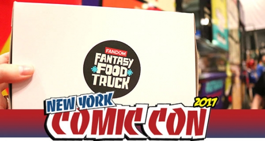 Fantasy Food Truck Banner NYCC