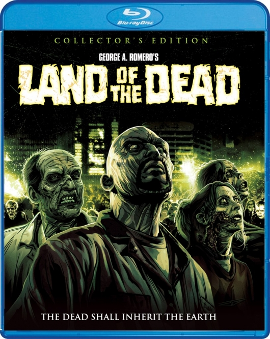 Land of the Dead (Collector's Edition) Blu-ray Cover Art