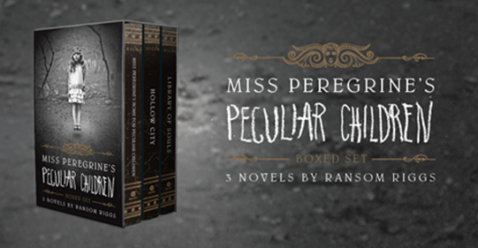 Miss Peregrine's Peculiar Children Boxed Set Paperback