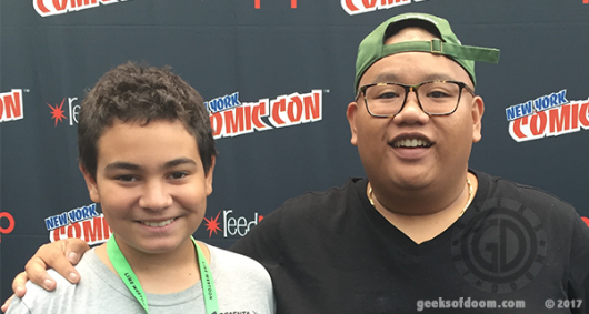 NYCC 2017 Jacob Batalon Spider-Man Homecoming