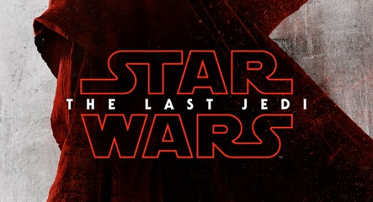 Star Wars The Last Jedi red banner
