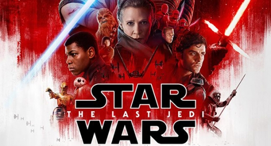 Star Wars The Last Jedi poster banner