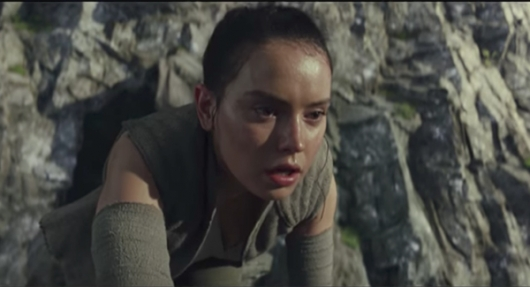 Star Wars: The Last Jedi, Daisy Ridley as Rey