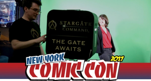 Stargate Command Banner Photo NYCC