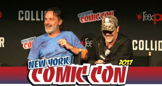 The Walking Dead NYCC Banner Photo