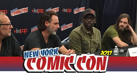 The Walking Dead NYCC 2017 Press Conference Banner Photo
