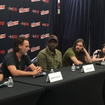 The Walking Dead Press NYCC