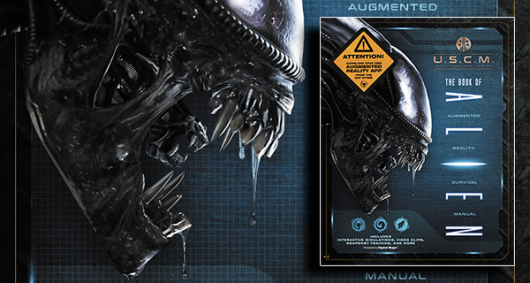 Book of Alien: Augmented Reality Survival Manual review