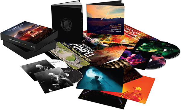 David Gilmour: Live at Pompeii Box Set