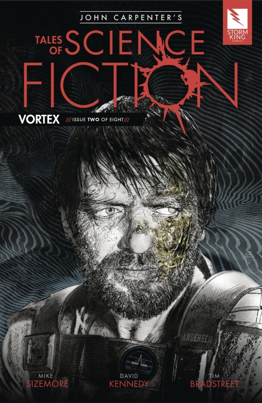 Tales of Science Fiction: Vortex #2 cover