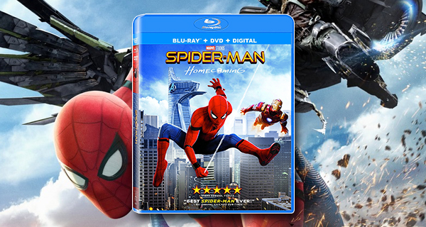 Spider-Man: Homecoming Blu-ray
