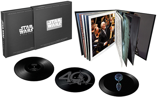 Star Wars: A New Hope Death Star Hologram Limited Edition Triple Vinyl Box Set