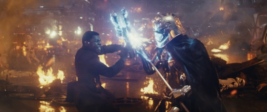 Star Wars The Last Jedi Finn vs Captain Phasma