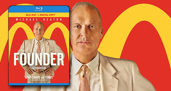 The Founder Blu ray