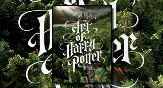 The Art Of Harry Potter hardcover book cover