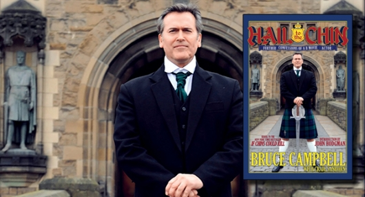 Bruce Campbell - Hail to the Chin book