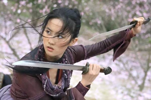 Crystal Liu Cast As Mulan