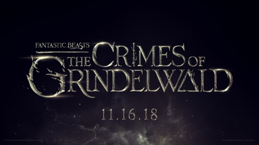 fantastic beasts 2 title treatment