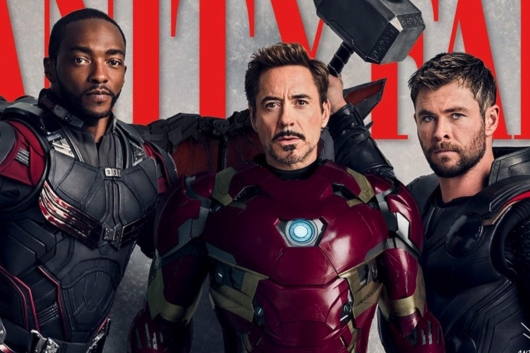 Marvel Studios Vanity Fair header