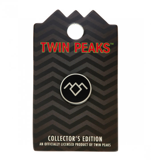 RockLove Jewelry Twin Peaks Pin 1