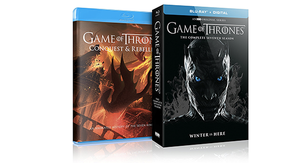 Game Of Thrones: The Complete Season 7 Blu-ray