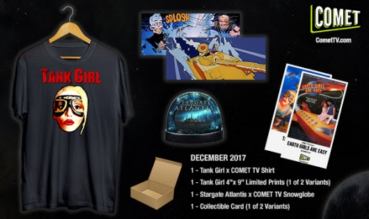 Comet TV Tank Girl Stargate