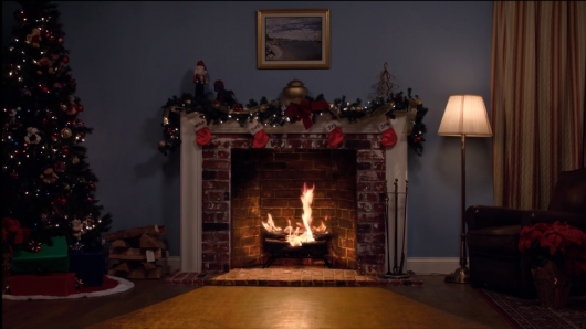 Hawkins Family Yule Log Video