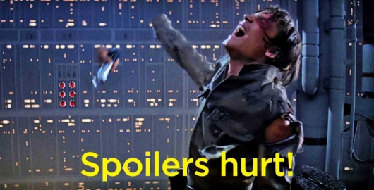 Star Wars Don't spoil me!