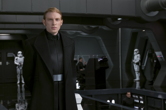 Star Wars: The Last Jedi starring Domhnall Gleeson
